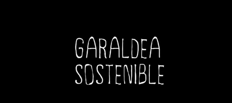 Cartel de Garaldea Sostenible