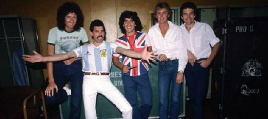 Imagen del grupo musical Queen