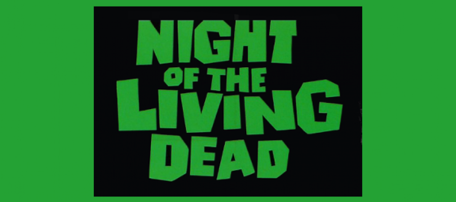 Imagen del cartel de la película Night of the Living Dead