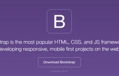 Web del framework Bootstrap