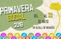 Cartel de la Primavera Social 2016