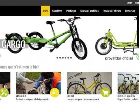 Web y tienda online de Biciclot